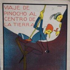 Giornalini: VIAJE DE PINOCHO AL CENTRO DE LA TIERRA - VARIOS AUTORES. Lote 205679768