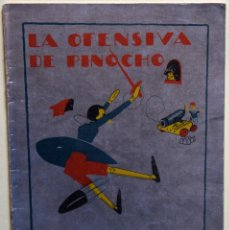 Tebeos: LA OFENSIVA DE PINOCHO - VARIOS AUTORES. Lote 205757446