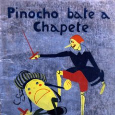 Tebeos: PINOCHO BATE A CHAPETE - VARIOS AUTORES. Lote 205757511