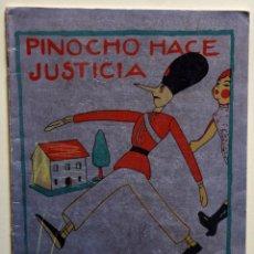 Tebeos: PINOCHO HACE JUSTICIA - VARIOS AUTORES. Lote 205760161