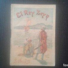 Tebeos: EL REY ZEYN. CUENTO DE CALLEJA. TOMO 90. AÑO 1901.. Lote 209668952
