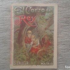Tebeos: EL CORZO DEL REY. CUENTO DE CALLEJA. TOMO 228. AÑO 1901.. Lote 210004595