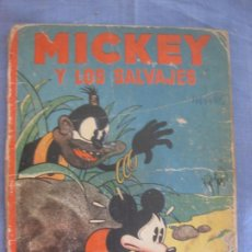 Tebeos: MICKEY Y LOS SALVAJES. ED. SATURNINO CALLEJA. 1935.. Lote 211561301