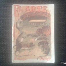 Tebeos: EL ARTE DE MATAR RATAS.CUENTO DE CALLEJA. SERIE IX. TOMO 171. 1902.. Lote 211672521
