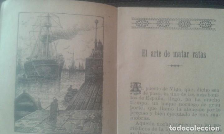 Tebeos: EL ARTE DE MATAR RATAS.CUENTO DE CALLEJA. SERIE IX. TOMO 171. 1902. - Foto 9 - 211672521