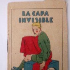 BDs: CUENTO DE CALLEJA ORIGINAL DE 1902 LA CAPA INVISIBLE SERIE I TOMO 14. Lote 213882151