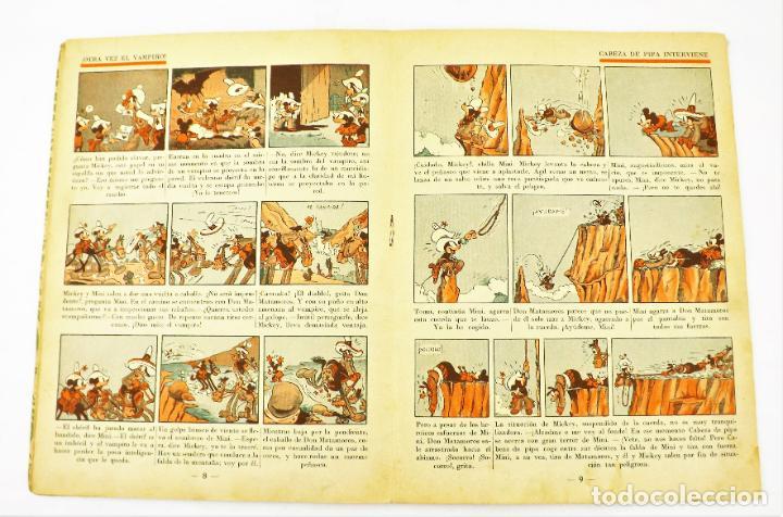 Tebeos: Mickey en el Far West Saturnino calleja nº 15 (1ª edición) - Foto 2 - 215454512