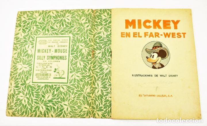 Tebeos: Mickey en el Far West Saturnino calleja nº 15 (1ª edición) - Foto 3 - 215454512