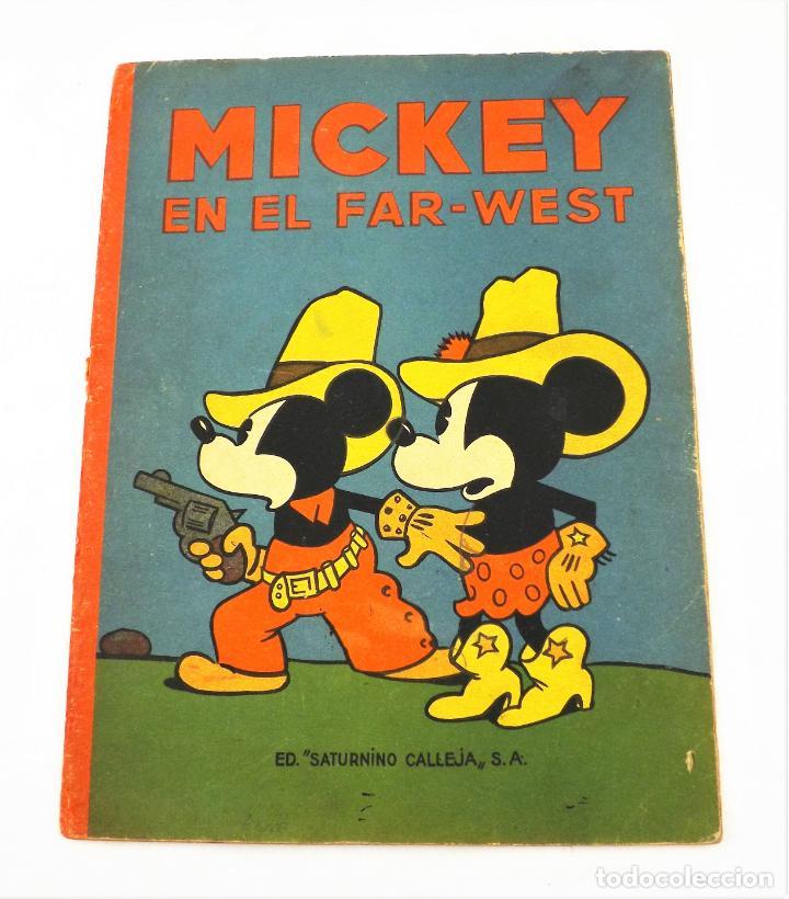 MICKEY EN EL FAR WEST SATURNINO CALLEJA Nº 15 (1ª EDICIÓN) (Tebeos y Comics - Calleja)