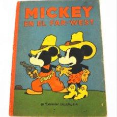 Tebeos: MICKEY EN EL FAR WEST SATURNINO CALLEJA Nº 15 (1ª EDICIÓN). Lote 215454512