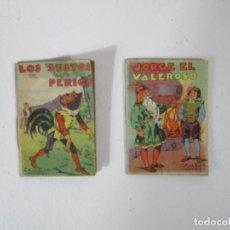 BDs: CUENTOS DE CALLEJA - LOS SUSTOS DE PERICO, JORGE EL VALEROSO. Lote 215571510