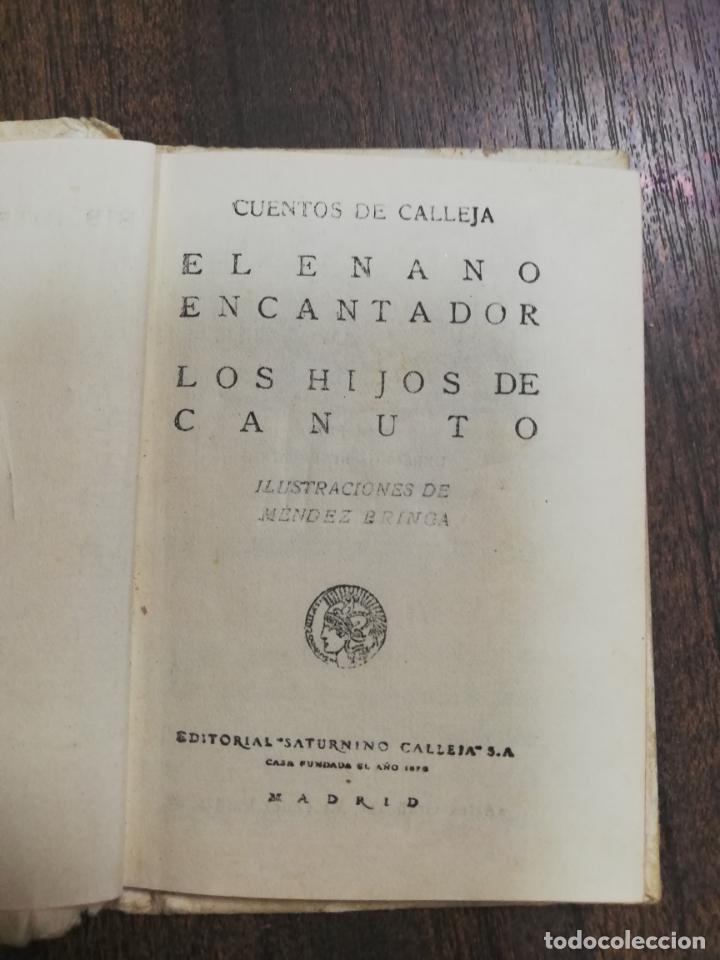 Tebeos: EL ENANO ENCANTADOR. LOS HIJOS DE CANUTO. CUENTOS DE CALLEJA. ILUSTRADO POR PENAGO. AÑOS 20. - Foto 2 - 216543916