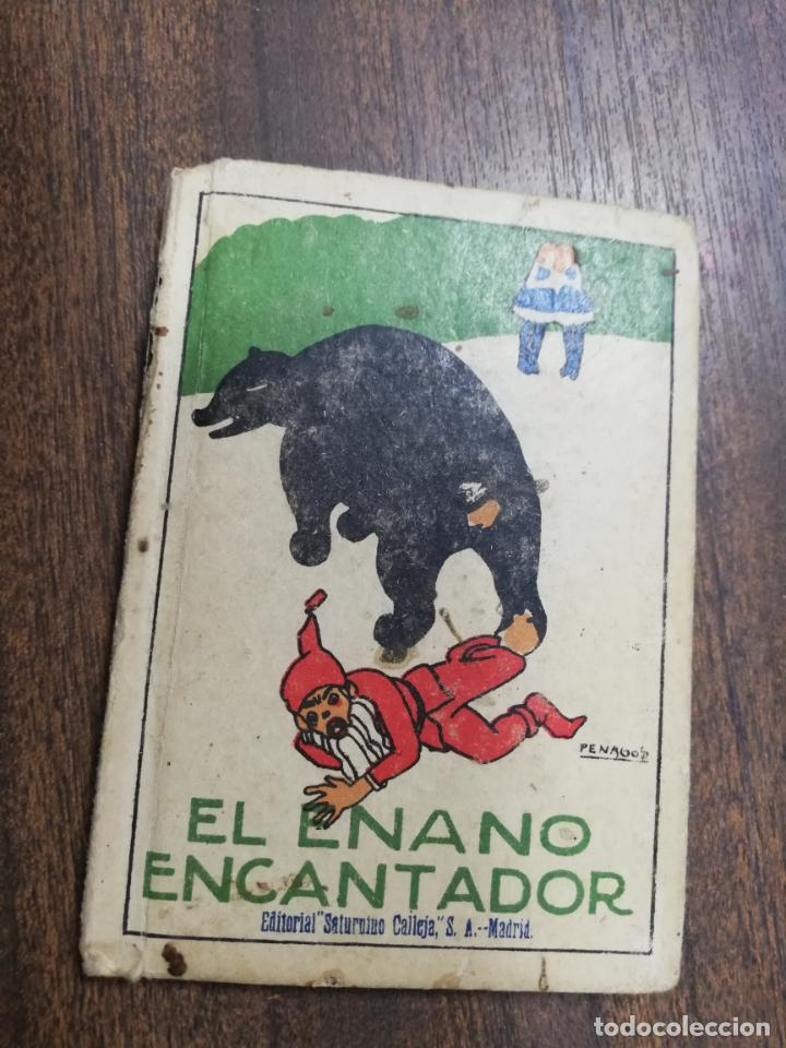 EL ENANO ENCANTADOR. LOS HIJOS DE CANUTO. CUENTOS DE CALLEJA. ILUSTRADO POR PENAGO. AÑOS 20. (Tebeos y Comics - Calleja)