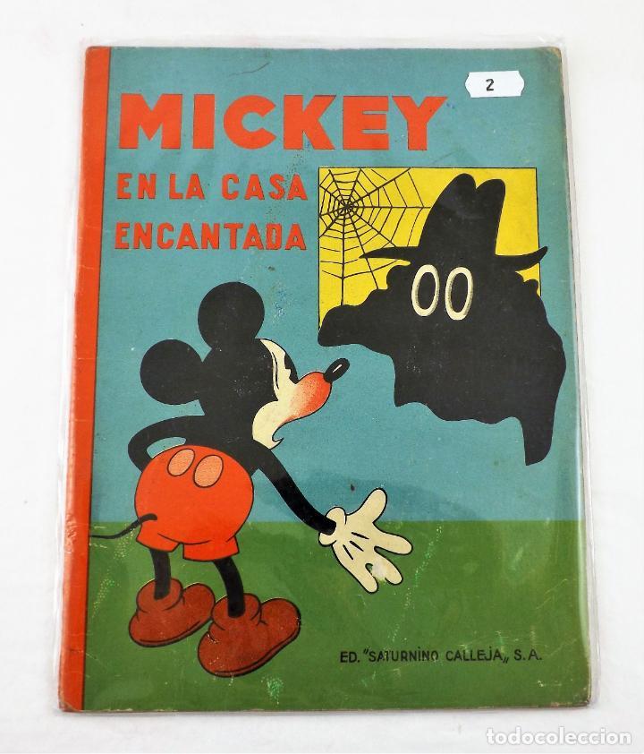 MICKEY EN LA CASA ENCANTADA SATURNINO CALLEJA EJEMPLAR Nº 2 (1ª EDICIÓN) (Tebeos y Comics - Calleja)