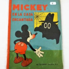 Tebeos: MICKEY EN LA CASA ENCANTADA SATURNINO CALLEJA EJEMPLAR Nº 2 (1ª EDICIÓN). Lote 216678257