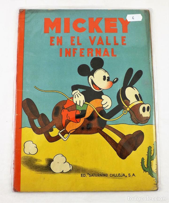 MICKEY EN EL VALLE INFERNAL SATURNINO CALLEJA EJEMPLAR Nº 4 (1ª EDICIÓN) (Tebeos y Comics - Calleja)