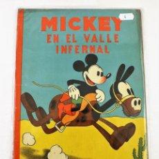 Tebeos: MICKEY EN EL VALLE INFERNAL SATURNINO CALLEJA EJEMPLAR Nº 4 (1ª EDICIÓN). Lote 216678360