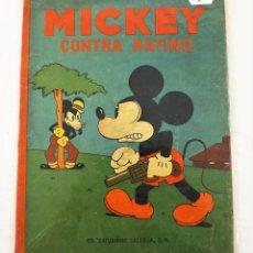 Tebeos: MICKEY CONTRA RATINO SATURNINO CALLEJA EJEMPLAR Nº 5 (1ª EDICIÓN). Lote 216678396