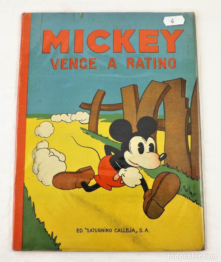 MICKEY VENCE A RATINO SATURNINO CALLEJA EJEMPLAR Nº 6 (1ª EDICIÓN) (Tebeos y Comics - Calleja)
