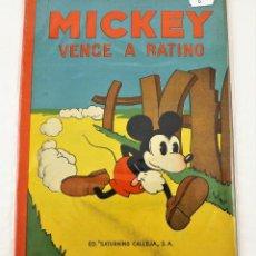 Tebeos: MICKEY VENCE A RATINO SATURNINO CALLEJA EJEMPLAR Nº 6 (1ª EDICIÓN). Lote 216678486