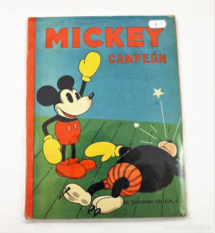 MICKEY CAMPEÓN SATURNINO CALLEJA EJEMPLAR Nº 8 (1ª EDICIÓN) (Tebeos y Comics - Calleja)