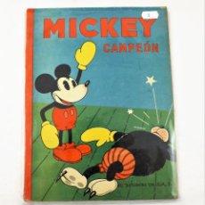 Tebeos: MICKEY CAMPEÓN SATURNINO CALLEJA EJEMPLAR Nº 8 (1ª EDICIÓN). Lote 216678546