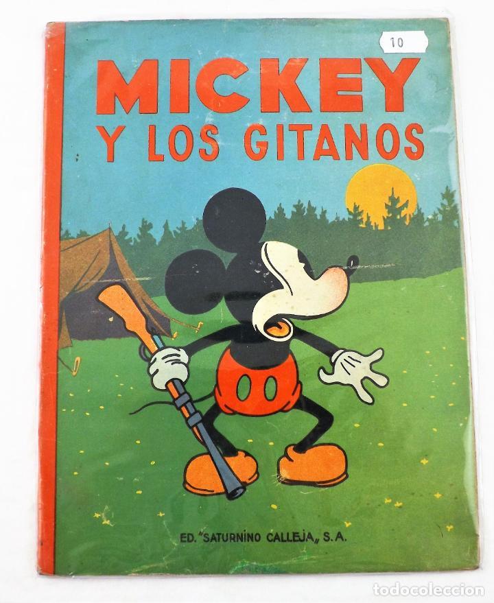 MICKEY Y LOS GITANOS SATURNINO CALLEJA EJEMPLAR Nº 10 (1ª EDICIÓN) (Tebeos y Comics - Calleja)