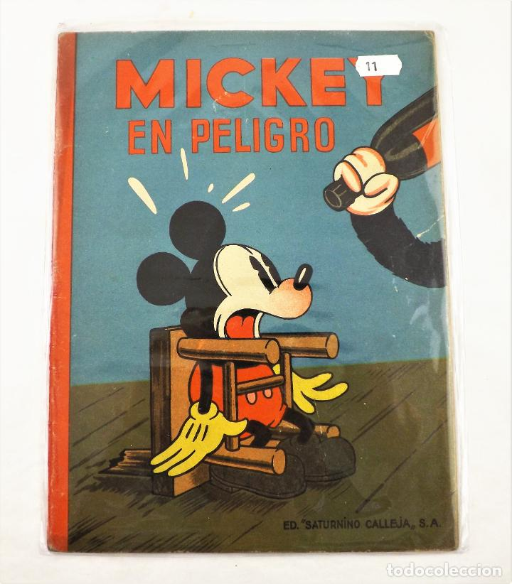 MICKEY EN PELIGRO SATURNINO CALLEJA EJEMPLAR Nº 11 (1ª EDICIÓN) (Tebeos y Comics - Calleja)