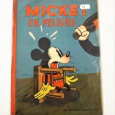 Tebeos: MICKEY EN PELIGRO SATURNINO CALLEJA EJEMPLAR Nº 11 (1ª EDICIÓN). Lote 216678935