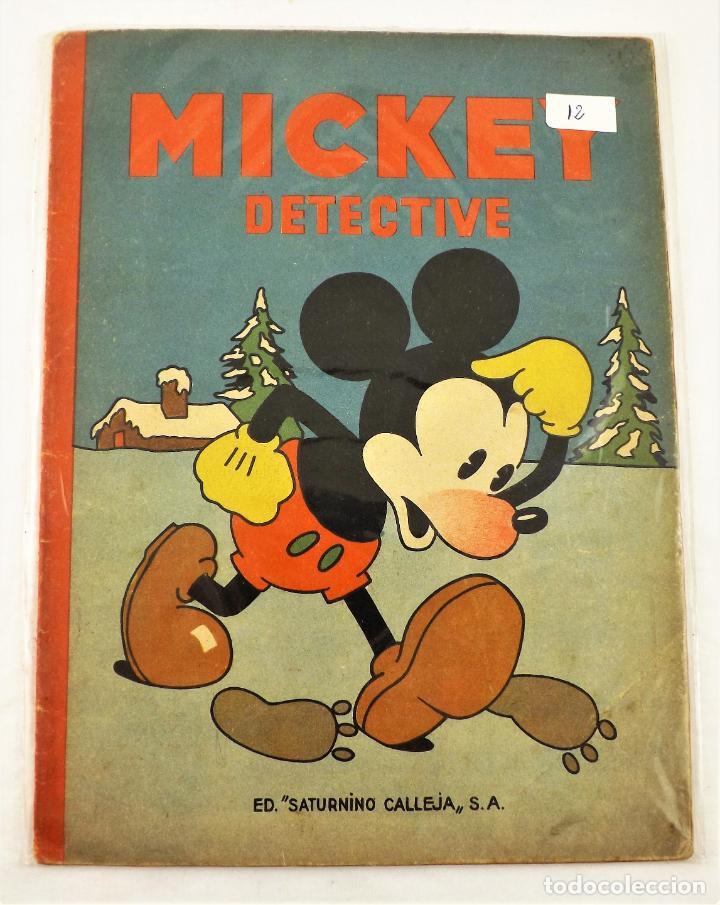 MICKEY DETECTIVE SATURNINO CALLEJA EJEMPLAR Nº 12 (1ª EDICIÓN) (Tebeos y Comics - Calleja)