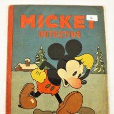 Tebeos: MICKEY DETECTIVE SATURNINO CALLEJA EJEMPLAR Nº 12 (1ª EDICIÓN). Lote 216678995