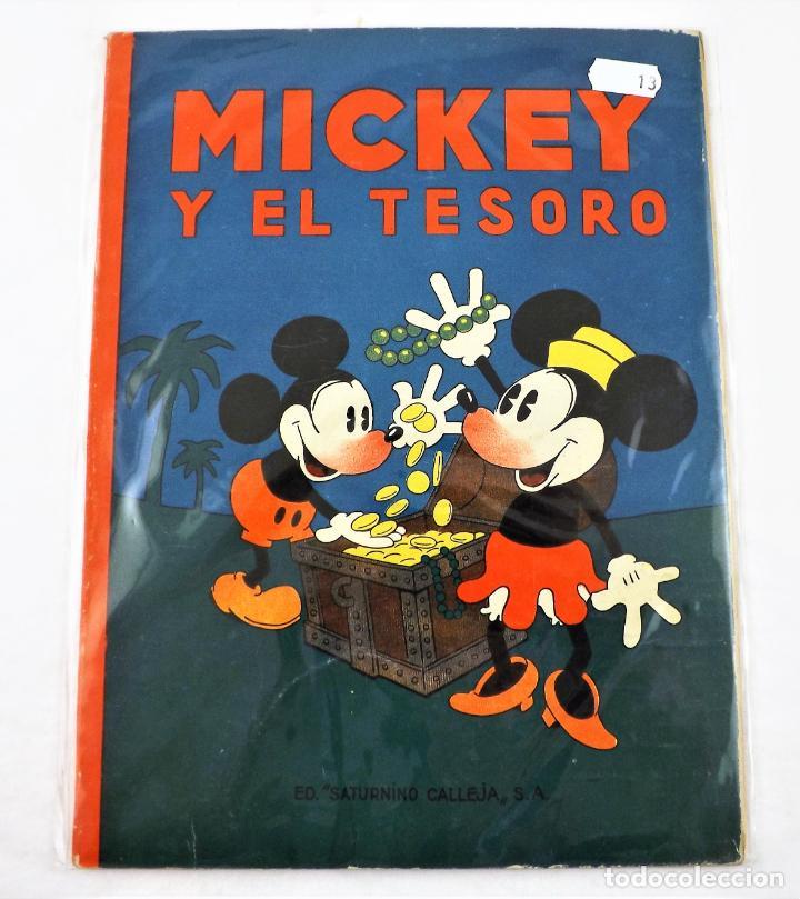 MICKEY Y EL TESORO SATURNINO CALLEJA EJEMPLAR Nº 13 (1ª EDICIÓN) (Tebeos y Comics - Calleja)