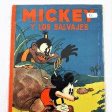 Tebeos: MICKEY Y LOS SALVAJES SATURNINO CALLEJA EJEMPLAR Nº 14 (1ª EDICIÓN). Lote 216679146