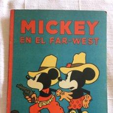 Tebeos: N° 15 MICKEY EN EL FAR-WEST -ED SATURNINO CALLEJA 1936 - ILUSTRACIONES DE WALT DISNEY - BUEN ESTADO. Lote 217436845