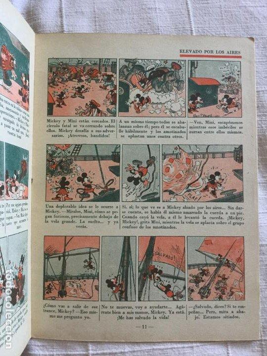 Tebeos: N° 13 MICKEY Y EL TESORO - ED SATURNINO CALLEJA - 1936 Ilustraciones de Walt Disney - Buen estado - Foto 3 - 217514960