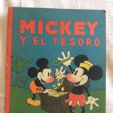 Tebeos: N° 13 MICKEY Y EL TESORO - ED SATURNINO CALLEJA - 1936 ILUSTRACIONES DE WALT DISNEY - BUEN ESTADO. Lote 217514960