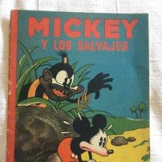 Tebeos: N° 14 MICKEY Y LOS SALVAJES - ED SATURNINO CALLEJA - 1936 ILUSTRACIONES DE WALT DISNEY - BUEN ESTADO. Lote 217589707