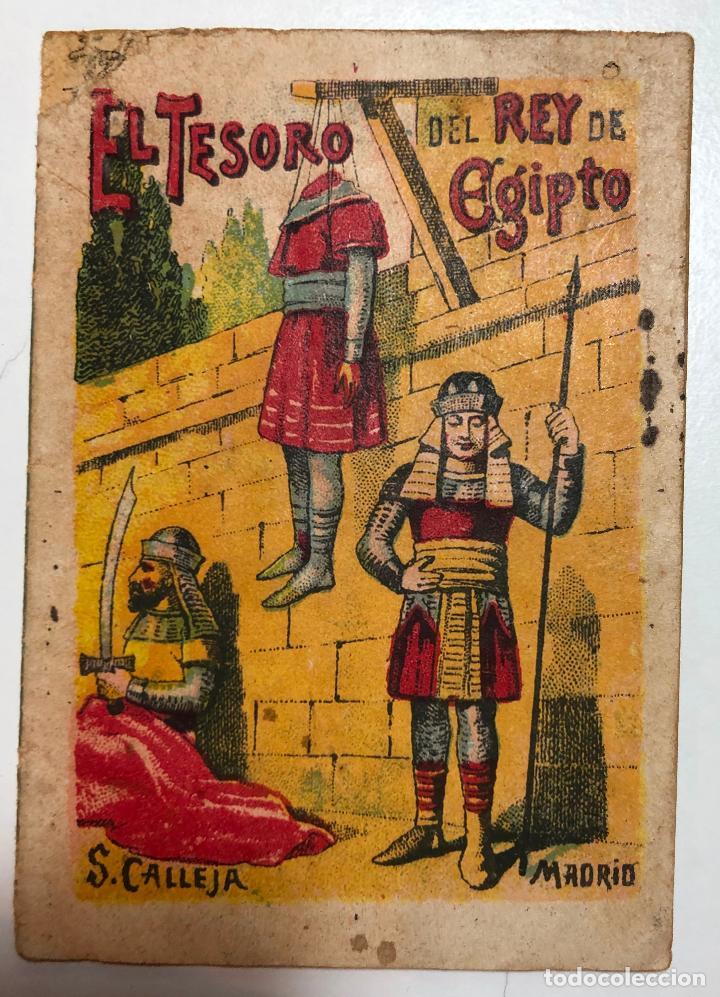 CUENTO DE CALLEJA EL TESORO DEL REY DE EGIPTO. 7CM X 10CM.SERIE RECREO INFANTIL SERIE VIII-TOMO 143. (Tebeos y Comics - Calleja)
