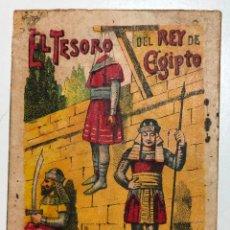 Tebeos: CUENTO DE CALLEJA EL TESORO DEL REY DE EGIPTO. 7CM X 10CM.SERIE RECREO INFANTIL SERIE VIII-TOMO 143.. Lote 224727182
