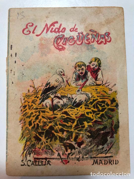 CUENTO DE CALLEJA EL NIDO DE CIGÜEÑAS. 7CM X 10CM.SERIE RECREO INFANTIL SERIE VIII-TOMO 148. (Tebeos y Comics - Calleja)