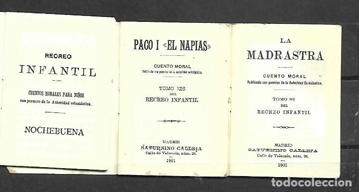Tebeos: 3 CUENTOS DE CALLEJA DE 1.901 - Foto 2 - 224921408