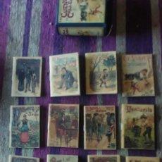 Tebeos: CUENTOS DE CALLEJA 1901..,12 CUENTOS Y SU CAJA-LIBRO. Lote 226256060