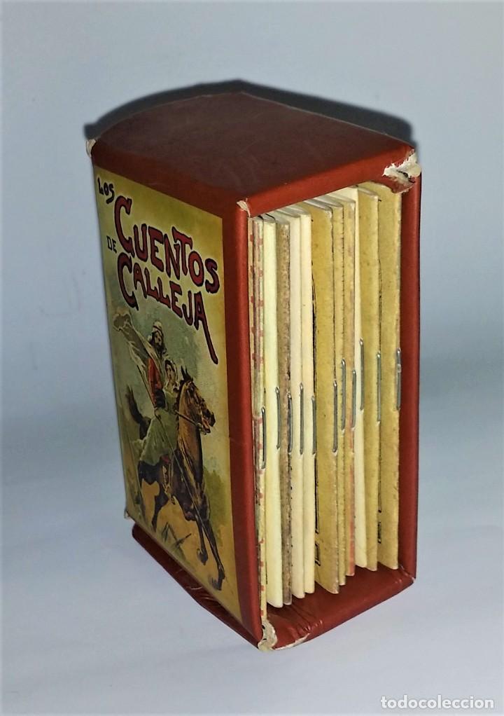 Tebeos: Los cuentos de Calleja: 12 Cuentos de Oriente - Madrid 1901 - Envío gratis Península - Foto 4 - 226365010