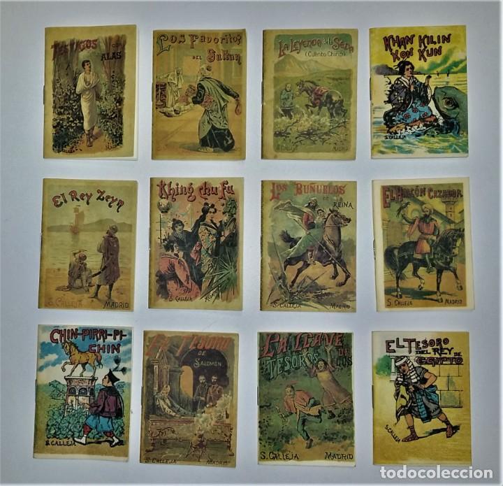 Tebeos: Los cuentos de Calleja: 12 Cuentos de Oriente - Madrid 1901 - Envío gratis Península - Foto 6 - 226365010