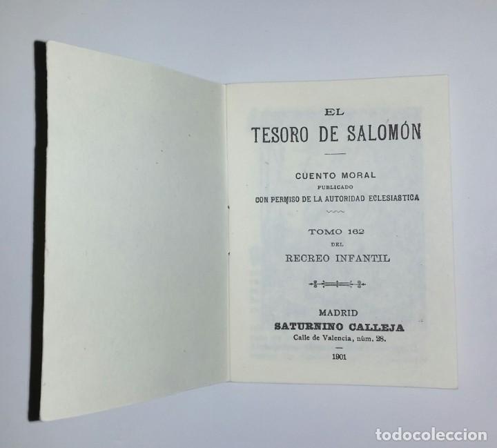 Tebeos: Los cuentos de Calleja: 12 Cuentos de Oriente - Madrid 1901 - Envío gratis Península - Foto 8 - 226365010