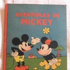 Tebeos: N° 1 AVENTURAS DE MICKEY - ED SATURNINO CALLEJA - 1936 ILUSTRACIONES DE WALT DISNEY - BUEN ESTADO. Lote 226828555