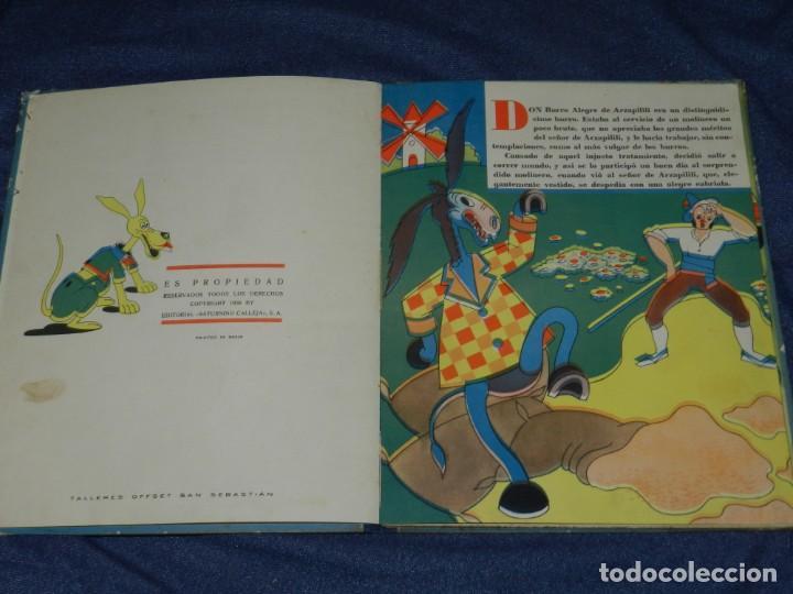 Tebeos: EL BURRO LISTO , BIBLIOTECA DEL BEBE , EDT. SATURNINO CALLEJA , MADRID , ILUSTRADO POR HORTELANO - Foto 3 - 228008720