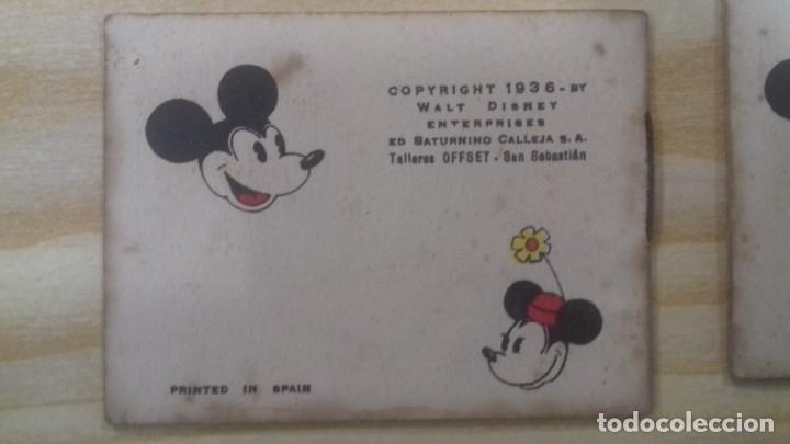 Tebeos: 19 MINI CUENTOS WALT DISNEY EDITORIAL CALLEJA 1936 SERIE IV - Foto 2 - 228922905