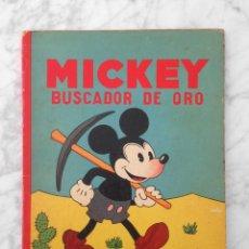 Tebeos: MICKEY BUSCADOR DE ORO - ED. SATURNINO CALLEJA - 1934 - WALT DISNEY. Lote 230836610