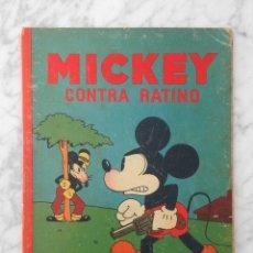 Tebeos: MICKEY CONTRA RATINO - ED. SATURNINO CALLEJA - 1935 - WALT DISNEY. Lote 230839060